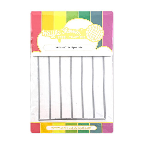 Waffle Flower Crafts - Craft Die - Vertical Stripes