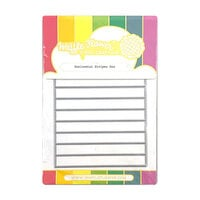 Waffle Flower Crafts - Craft Die - Horizontal Stripes