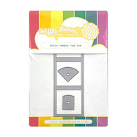Waffle Flower Crafts - Craft Die - Color Combos Tag