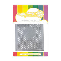 Waffle Flower Crafts - Craft Die - Herringbone Panel