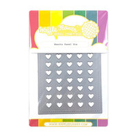 Waffle Flower Crafts - Panel Die - Hearts