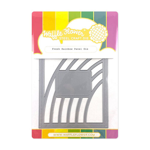 Waffle Flower Crafts - Panel Die - Fresh Rainbow