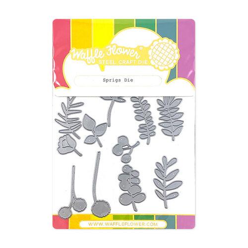Waffle Flower Crafts - Stand Alone Craft Die - Sprigs