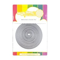 Waffle Flower Crafts - Stand Alone Craft Die - Additional Circles