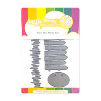Waffle Flower Crafts - Stand Alone Craft Die - Over the Fence