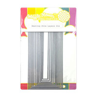 Waffle Flower Crafts - Dies - Nesting Slim Layers