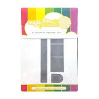Waffle Flower Crafts - Dies - Stitchable Squares
