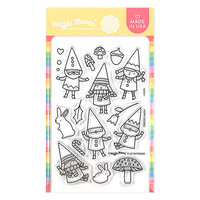 Waffle Flower Crafts - Clear Photopolymer Stamps - Happy Gnomes