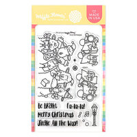 Waffle Flower Crafts - Clear Photopolymer Stamps - Fa-la-la