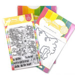 Waffle Flower Crafts - Craft Die and Clear Photopolymer Stamp Set - Fa-la-la