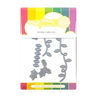 Waffle Flower Crafts - Craft Die - Holiday Lights