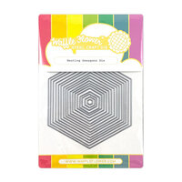 Waffle Flower Crafts - Craft Die - Nesting Hexagons