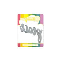 Waffle Flower Crafts - Craft Dies - Oversized Peace Word
