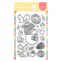 Waffle Flower Crafts - Clear Photopolymer Stamps - Home Sweet Home