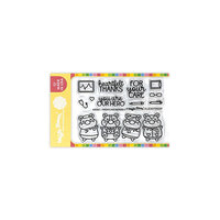 Waffle Flower Crafts - Clear Photopolymer Stamps - Frontline Heroes 1