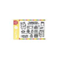 Waffle Flower Crafts - Clear Photopolymer Stamps - Frontline Heroes 3