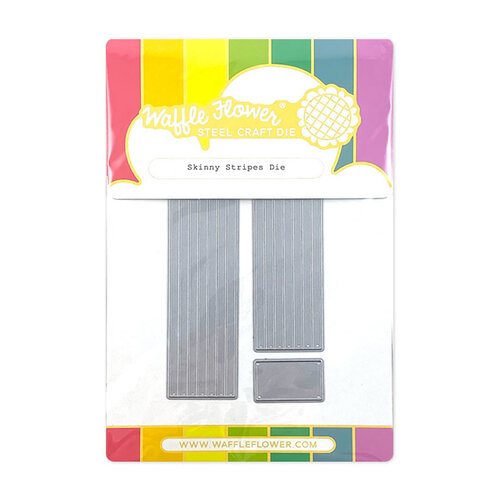 Waffle Flower Crafts - Craft Die - Skinny Stripes