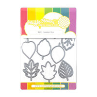 Waffle Flower Crafts - Craft Die - Fall Leaves