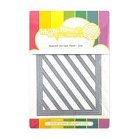 Waffle Flower Crafts - Craft Die - Angled Stripe Panel