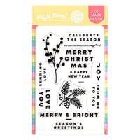 Waffle Flower Crafts - Clear Photopolymer Stamps - Spotlight Holiday Elements