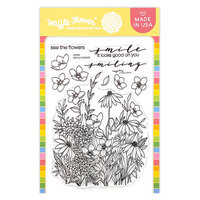 Waffle Flower Crafts - Clear Photopolymer Stamps - Tender Blooms