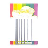 Waffle Flower Crafts - Dies - Slimline - Stripes