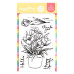Waffle Flower Crafts - Hope Collection - Clear Photopolymer Stamps - Crocus