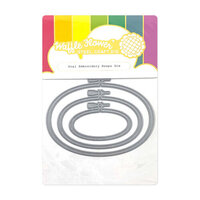 Waffle Flower Crafts - Hope Collection - Craft Dies - Oval Embroidery Hoops