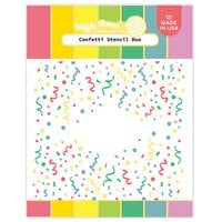 Waffle Flower Crafts - Stencils - Confetti Duo