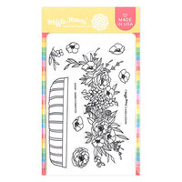 Waffle Flower Crafts - Clear Photopolymer Stamps - Jumbo Flower Pot
