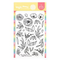 Waffle Flower Crafts - Clear Photopolymer Stamps - Simple Stems
