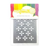 Waffle Flower Crafts - Craft Dies - Stitched Flower Panel