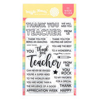 Waffle Flower Crafts - Clear Photopolymer Stamps - Teacher