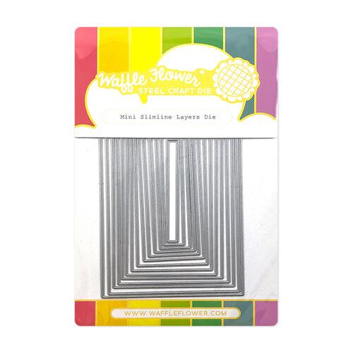 Waffle Flower Crafts - Craft Dies - Slimline - Mini Slimline Layers