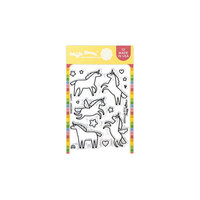 Waffle Flower Crafts - Clear Photopolymer Stamps - Unicorns