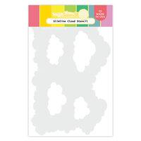 Waffle Flower Crafts - Stencils - Slimline - Cloud