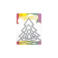 Waffle Flower Crafts - Dies - Nesting Christmas Tree