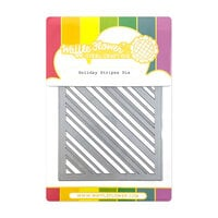 Waffle Flower Crafts - Christmas - Craft Dies - Holiday Stripes