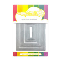Waffle Flower Crafts - Craft Dies - Nesting Stitched Rectangles