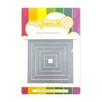 Waffle Flower Crafts - Craft Dies - Nesting Stitched Squares