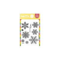 Waffle Flower Crafts - Clear Photopolymer Stamps - Galina's Snowflakes