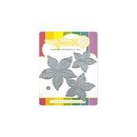 Waffle Flower Crafts - Christmas - Craft Dies - Layered Poinsettia