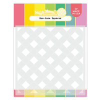 Waffle Flower Crafts - Stencils - Duo-tone Squares