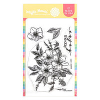 Waffle Flower Crafts - Clear Photopolymer Stamps - Anemone