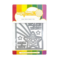 Waffle Flower Crafts - Craft Dies - Star Wish Panel