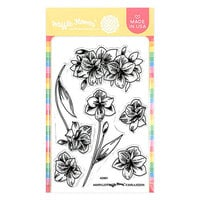 Waffle Flower Crafts - Clear Photopolymer Stamps - Amaryllis