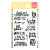 Waffle Flower Crafts - Clear Photopolymer Stamps - Cheer Up Sentiments