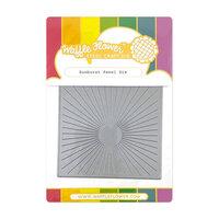Waffle Flower Crafts - Craft Dies - Sunburst Panel