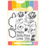 Waffle Flower Crafts - Craft Die and Acrylic Stamp Set - Stitched Roses