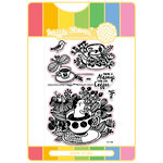 Waffle Flower Crafts - Craft Die and Acrylic Stamp Set - Enveloper Coffee